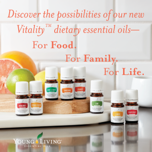 Young Living Essential Oils, Phoenixville PA, Vitality