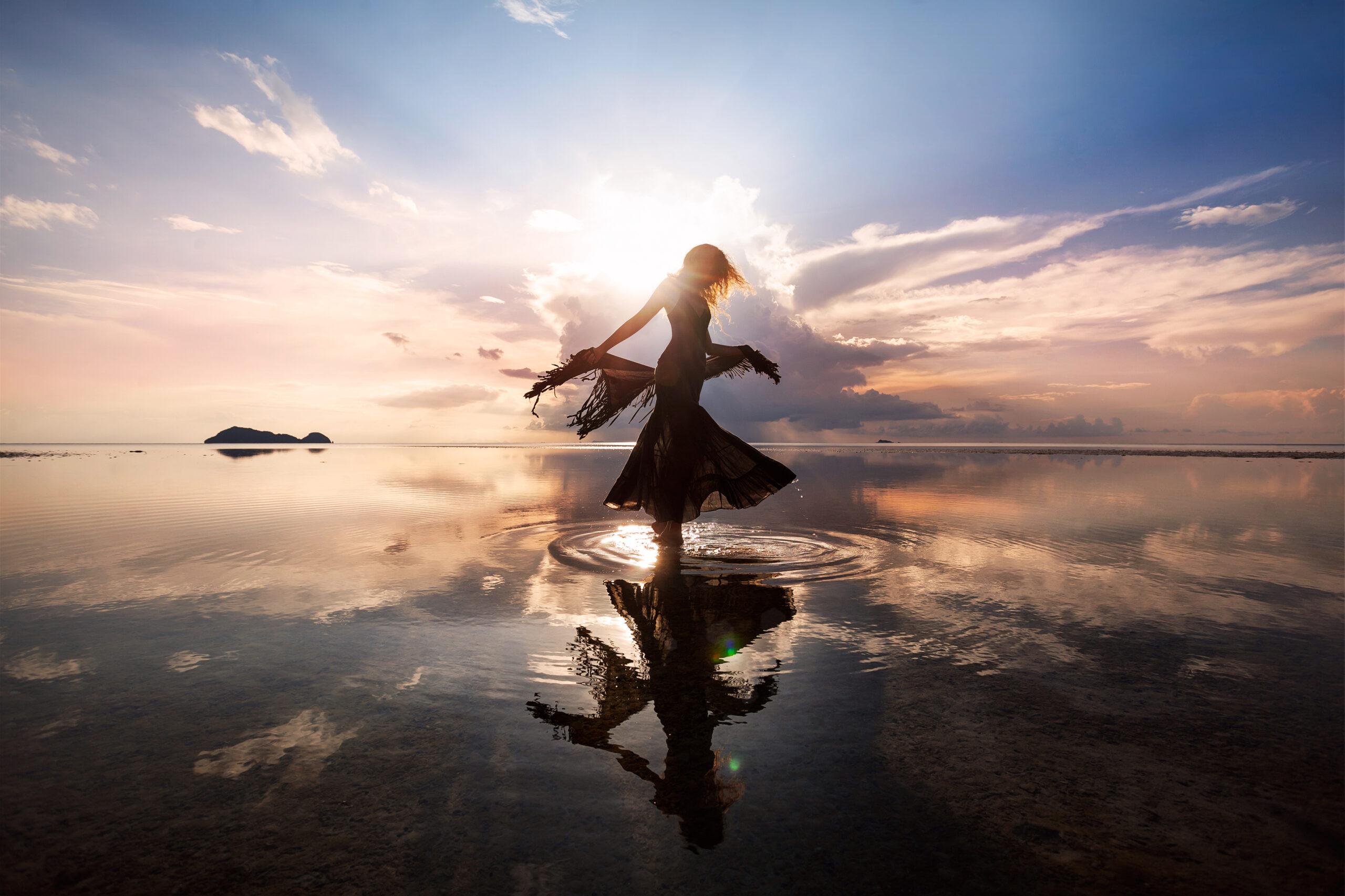 Awakening Woman Reclaiming The Divine Feminine Wellness